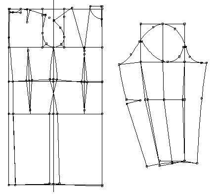 Построение базовой выкройки